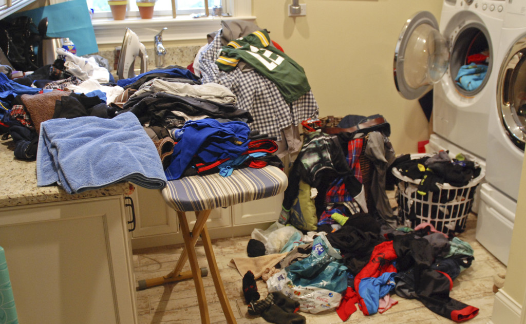 Laundry Room mess